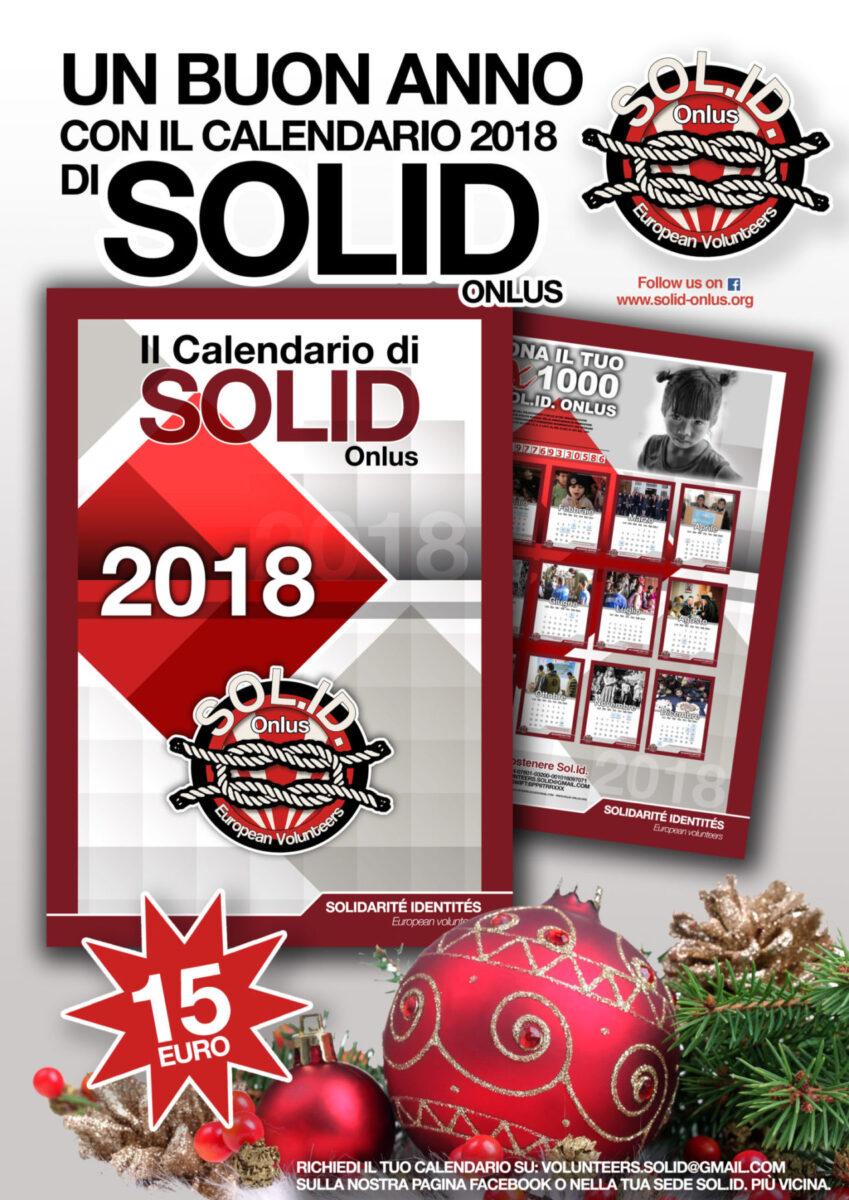 Un buon anno con il calendario Solid 2018