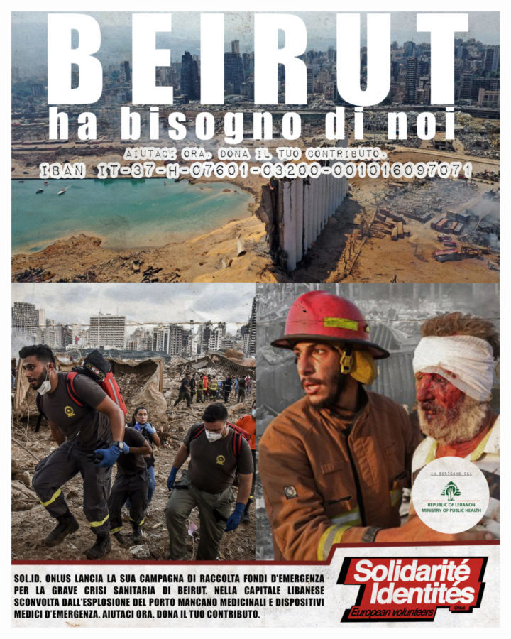 Emergenza Beirut. Il Libano ha bisogno di noi